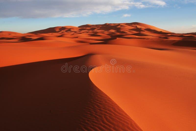 Désert de sable image stock