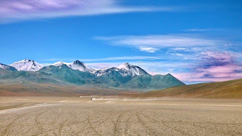 Désert de Siloli dans Altiplano La Bolivie, Amérique du Sud photos libres de droits