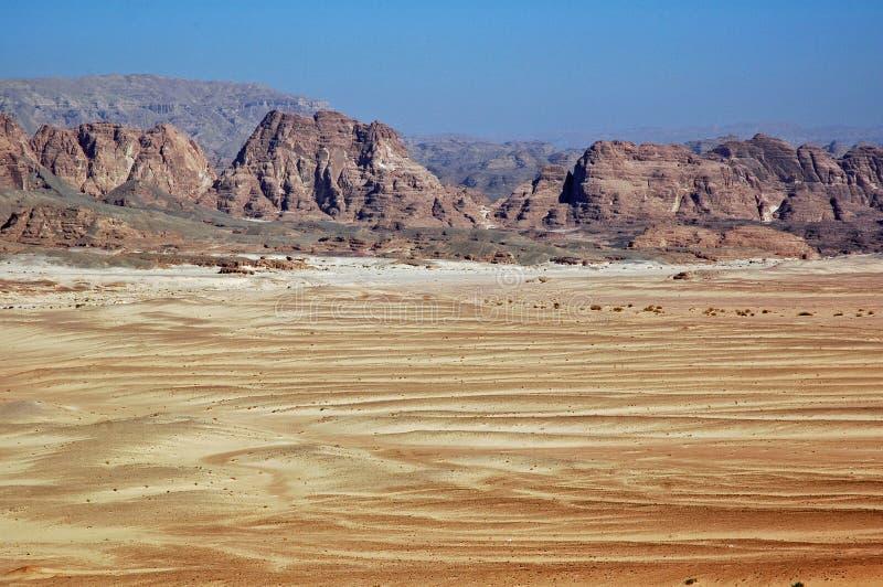 Désert de Sinai. images libres de droits