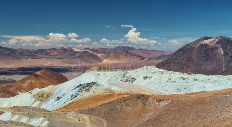 Désert du Chili Atacama image libre de droits