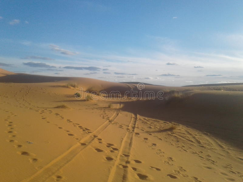 désert du Maroc image stock