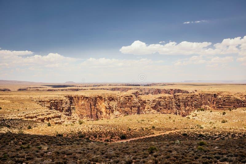 Désert ensoleillé pittoresque de l'Arizona image libre de droits