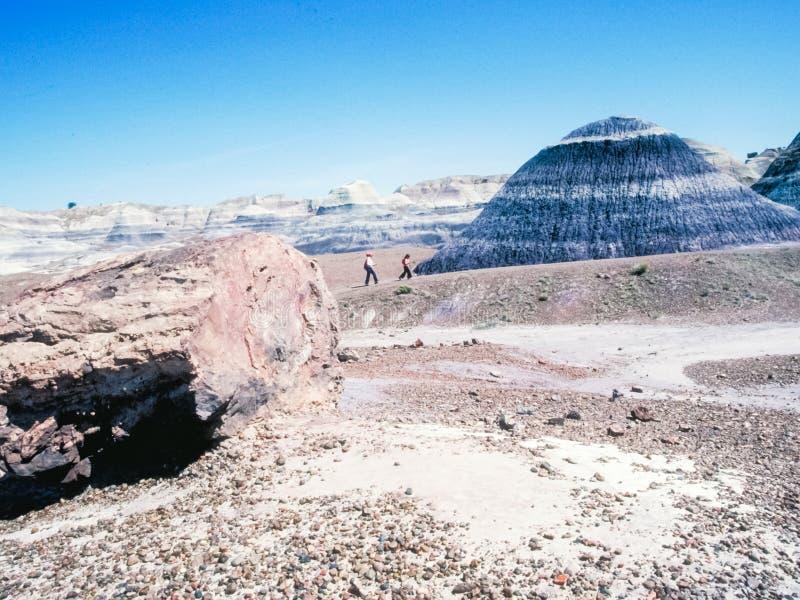 Désert et montagnes égyptiens Paysage Sahara photographie stock