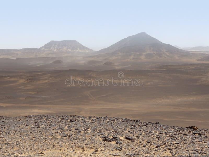 Désert libyen photo stock