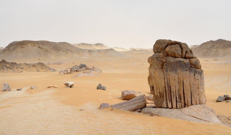 Désert libyen photographie stock