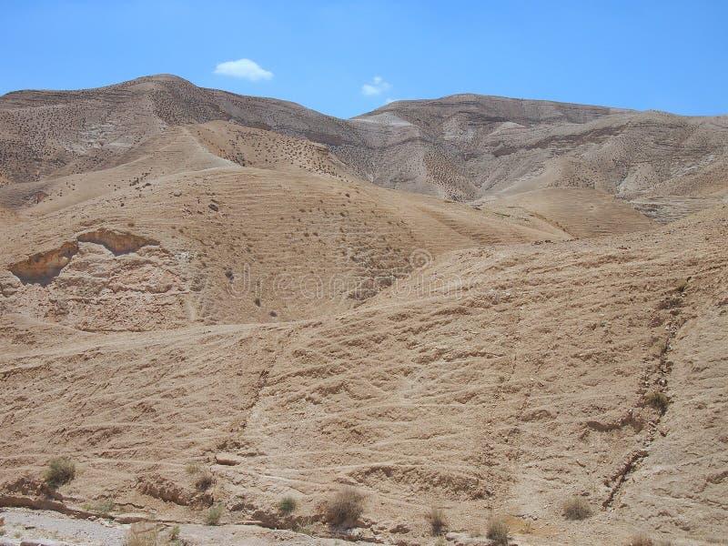 Désert stérile de Judaean, Israël, les Terres Saintes image stock