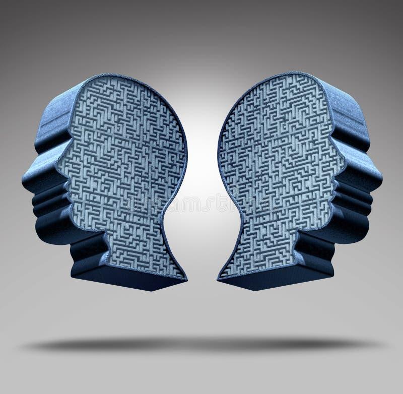Désordre bipolaire illustration libre de droits