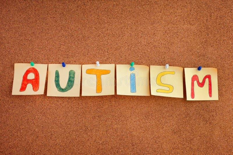 Désordre de spectre d'autisme images stock
