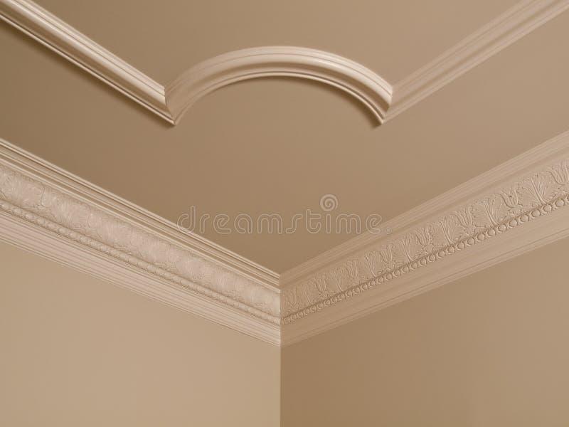 Détail à la maison de luxe de plafond images libres de droits