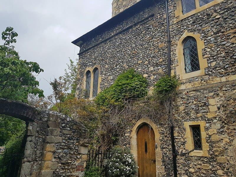 Détail anglais médiéval d'architecture photos stock
