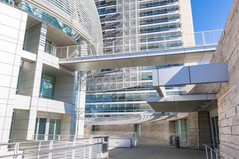 Détail architectural du complexe d'hôtel de ville image libre de droits