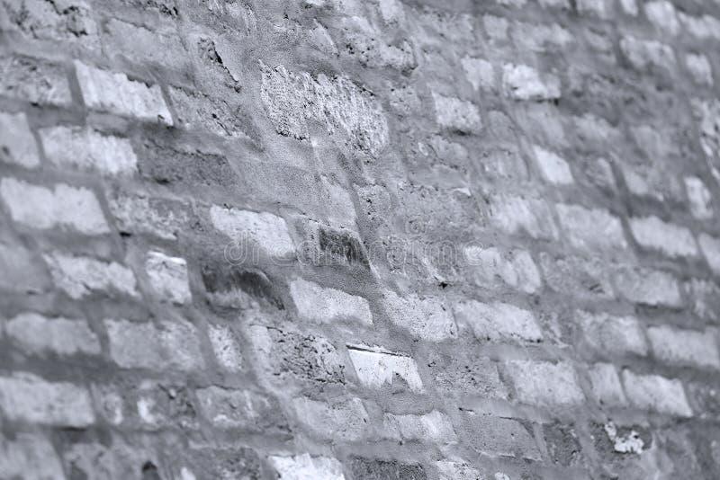 Détail architectural sur un mur de briques à Venise, Italie images libres de droits