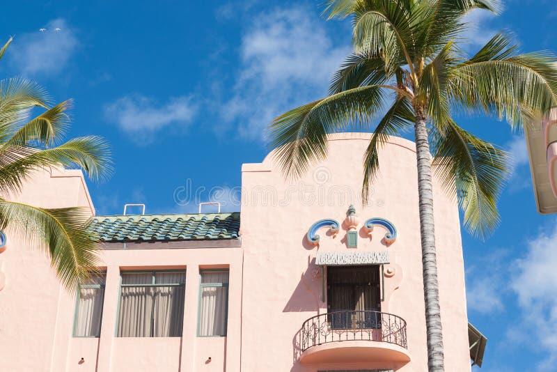 Détail colonial d'architecture de style espagnol photographie stock