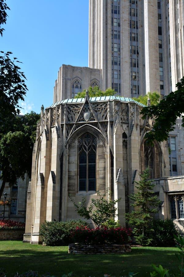 Détail commémoratif de chapelle de Stephen Foster photos stock