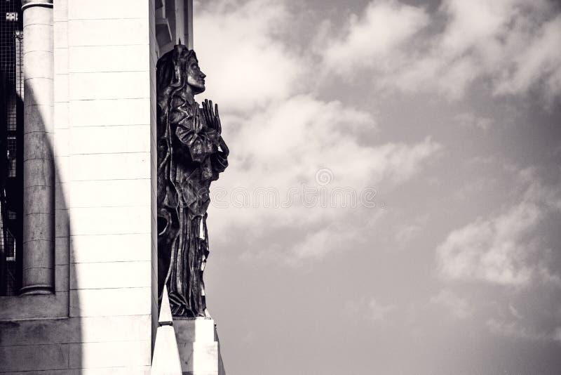 Détail d'église de Tandil photographie stock