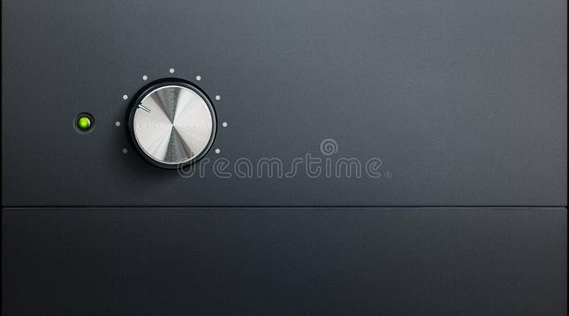 Détail d'amplificateur photos stock