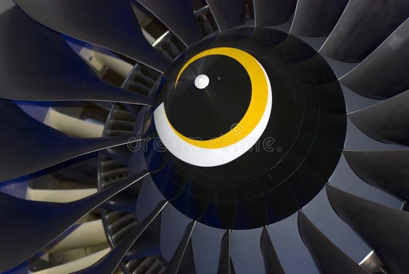 Détail d'avion montré au salon aérospatial international de MAKS photo stock