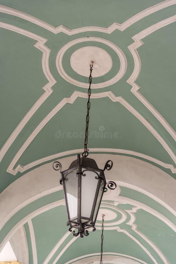 Détail d'entrée principale le palais d'hiver le musée d'ermitage d'état St Petersburg Russie photos libres de droits