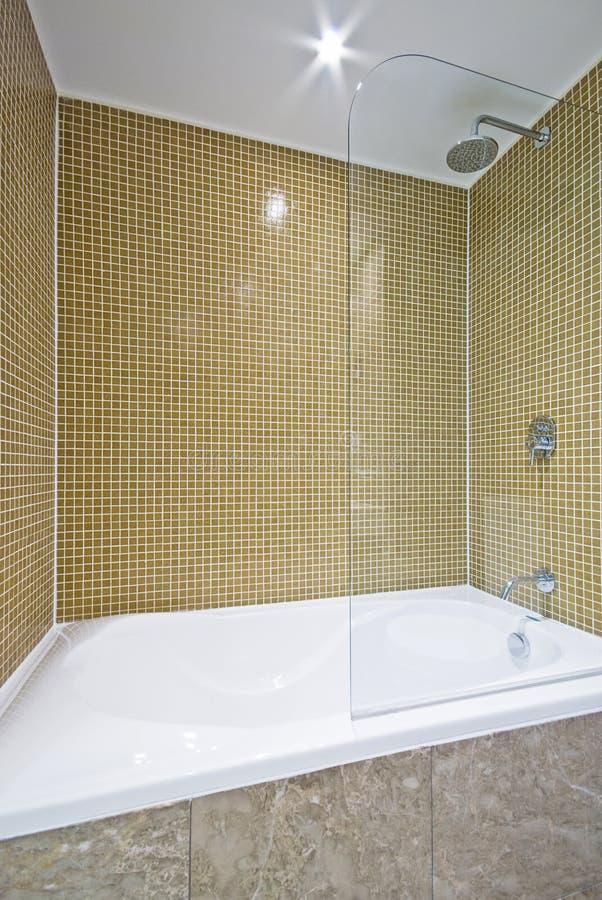 Détail d'un bain moderne images stock
