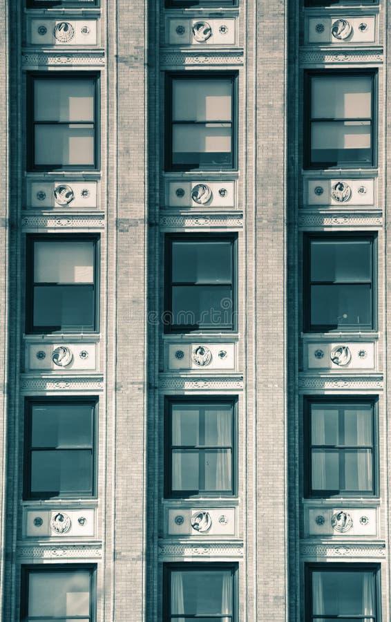 Détail d'un gratte-ciel image libre de droits