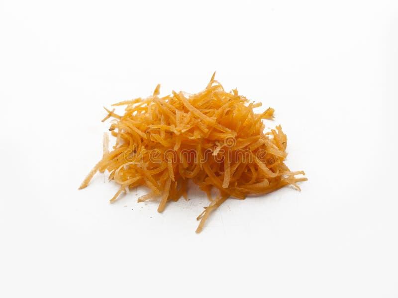 Détail d'un groupe d'éraflures de carotte photos libres de droits