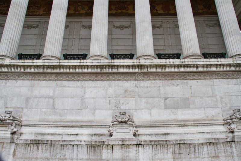 Détail d'un monument de marbre image libre de droits