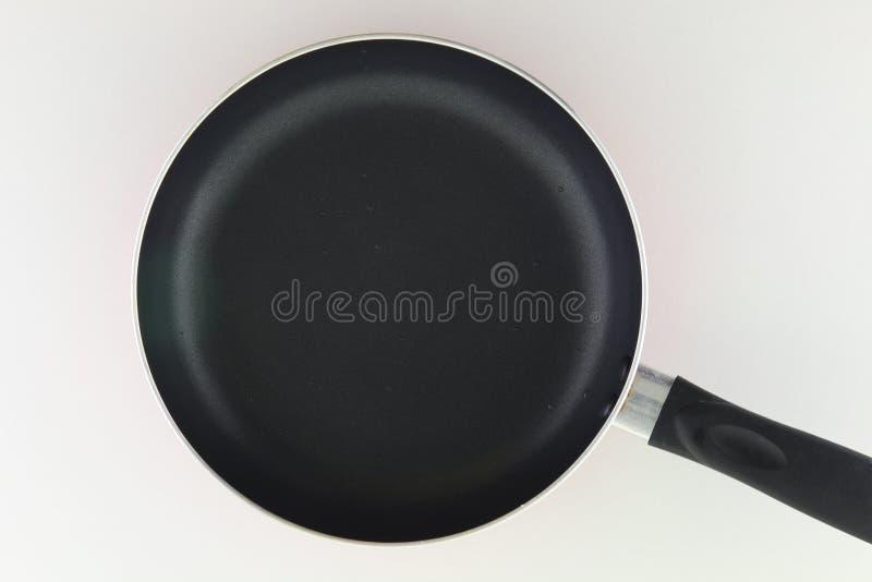Détail d'une casserole en métal image stock