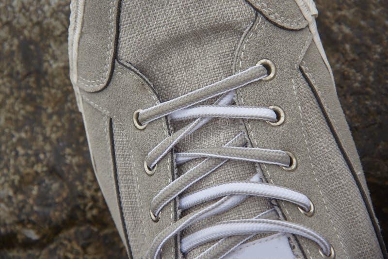 Détail d'une chaussure images stock