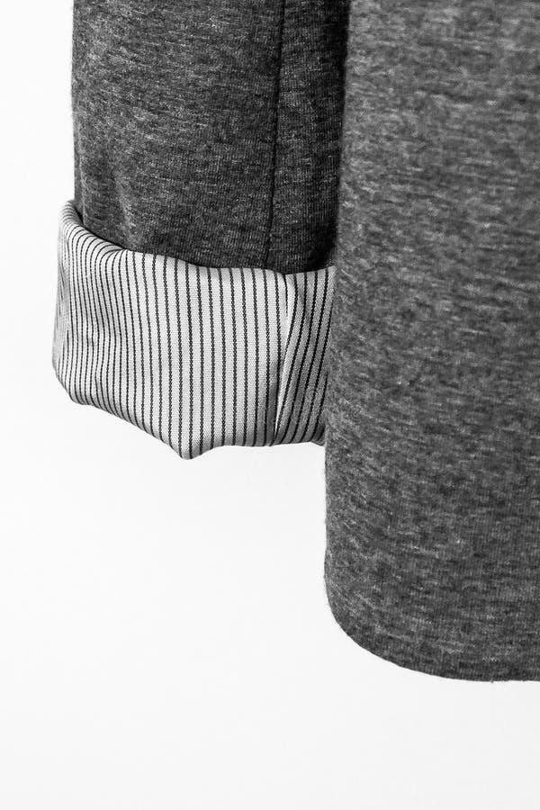 Détail d'une veste images stock