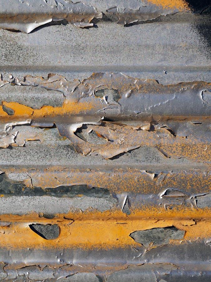 Détail d'une vieille surface métallique photographie stock