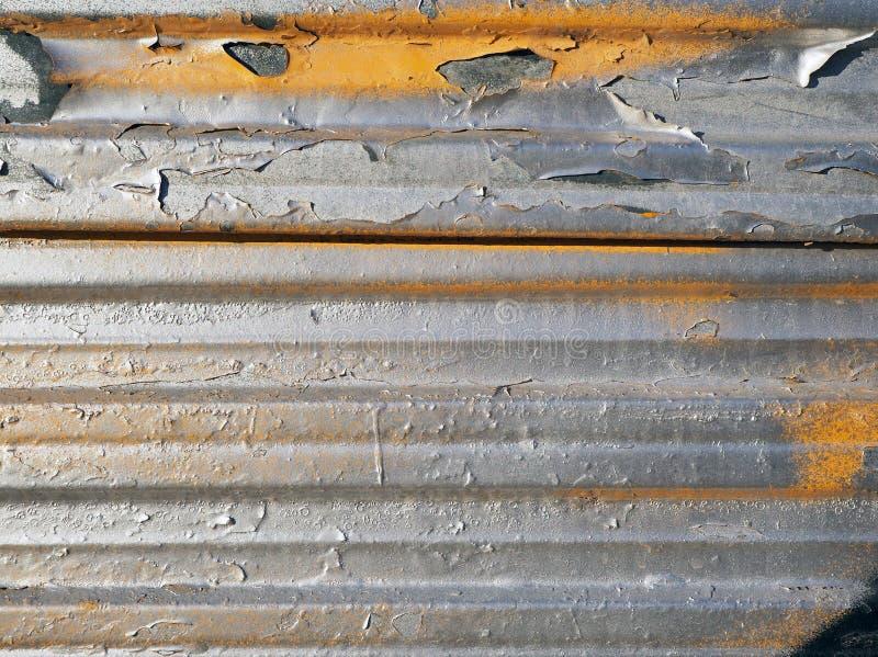 Détail d'une vieille surface métallique photo stock