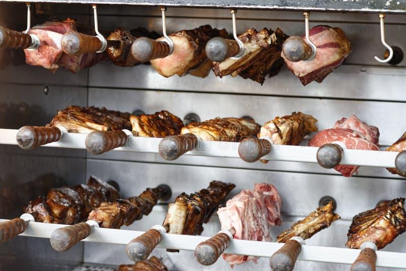 Détail de barbecue de Brasilia photos libres de droits
