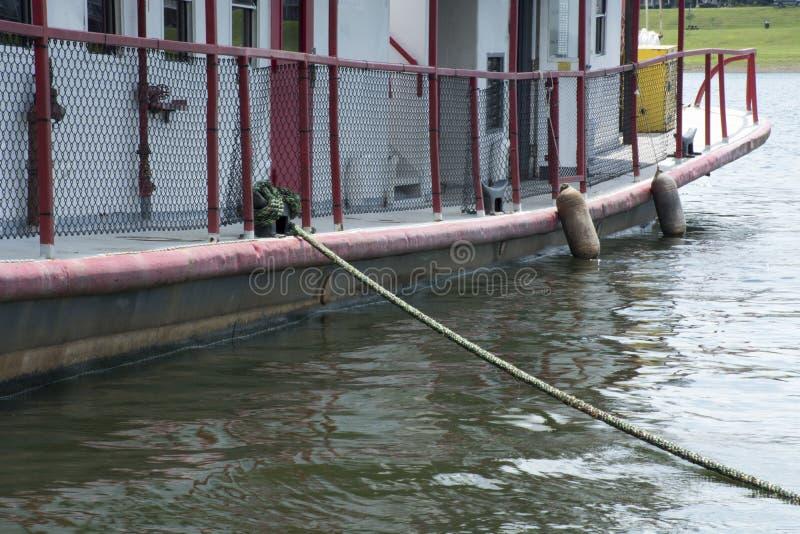 Détail de bateau au festival de sternwheel photographie stock