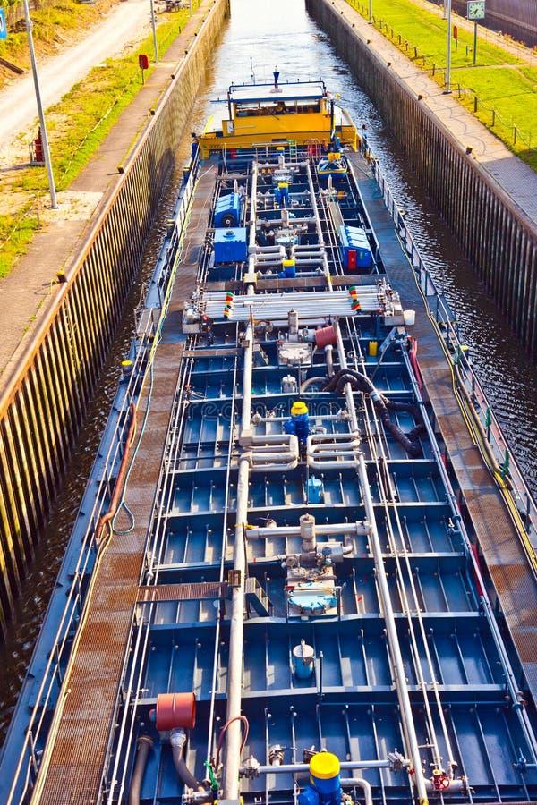 Détail de bateau pour l'eau intérieure photographie stock