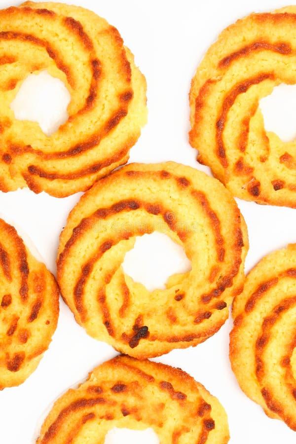 Détail de biscuits de noix de coco photos libres de droits