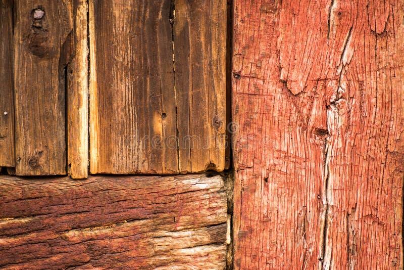 Détail de bois de bâtiment photos stock