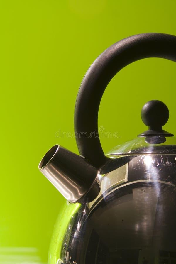 Détail de bouilloire photographie stock libre de droits