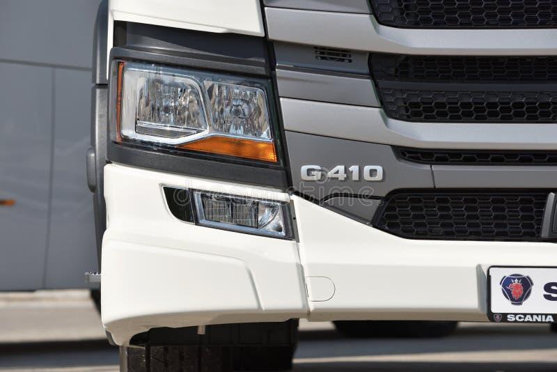 Détail de camion de Scania photo stock