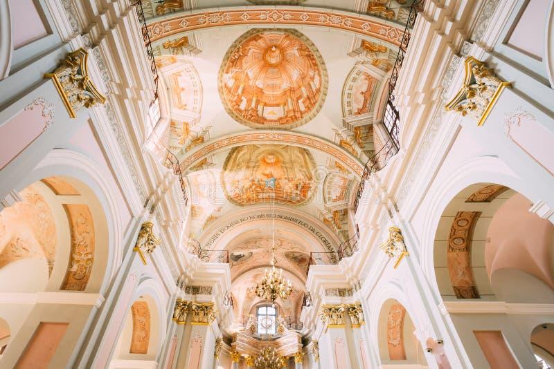 Détail de cathédrale intérieure de Vierge Marie saint image libre de droits