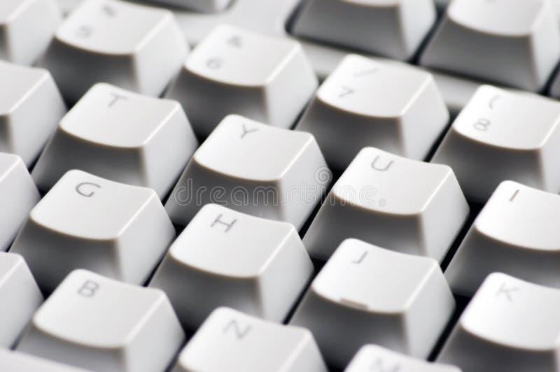 Détail de clavier d'ordinateur photo libre de droits