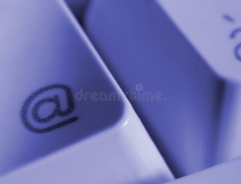 Détail de clavier d'ordinateur photographie stock libre de droits