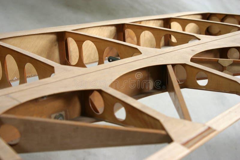 Détail de construction d'aile photographie stock