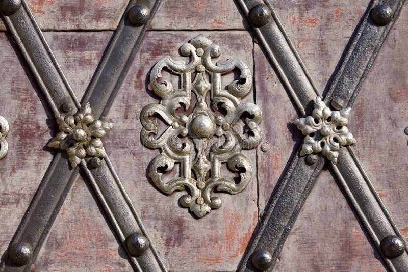 Détail de décoration en métal photo stock