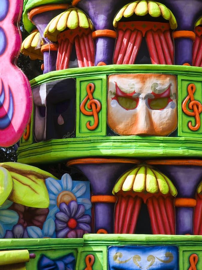 Détail de flotteur de carnaval images libres de droits