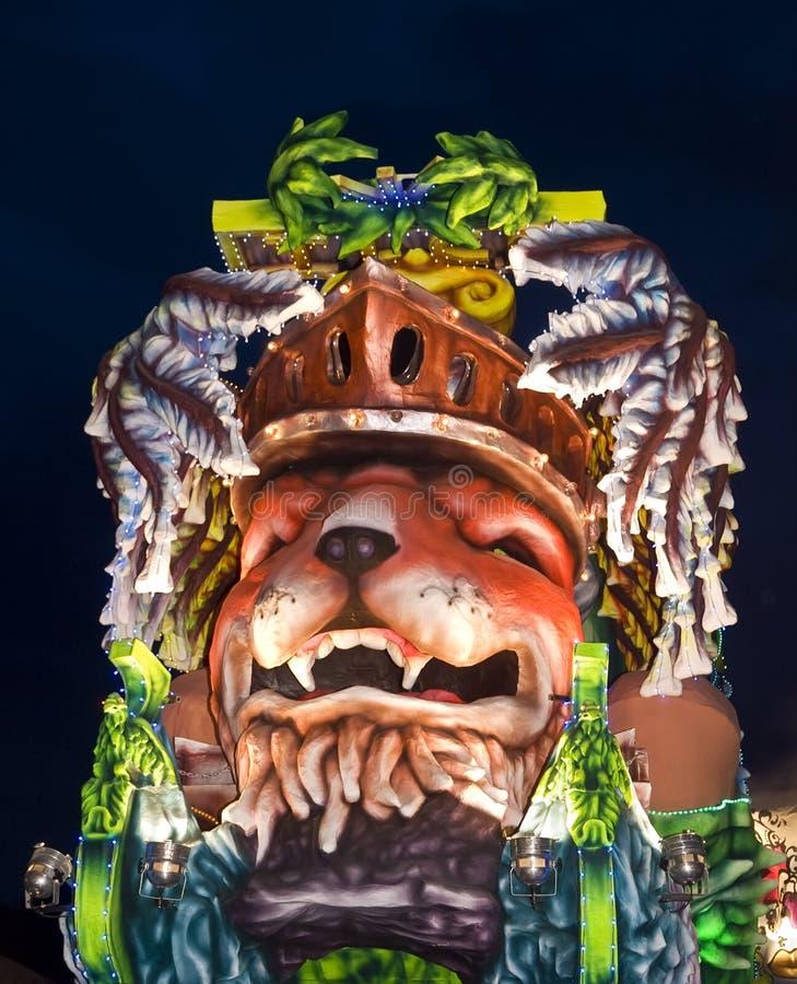 Détail de flotteur de carnaval images stock