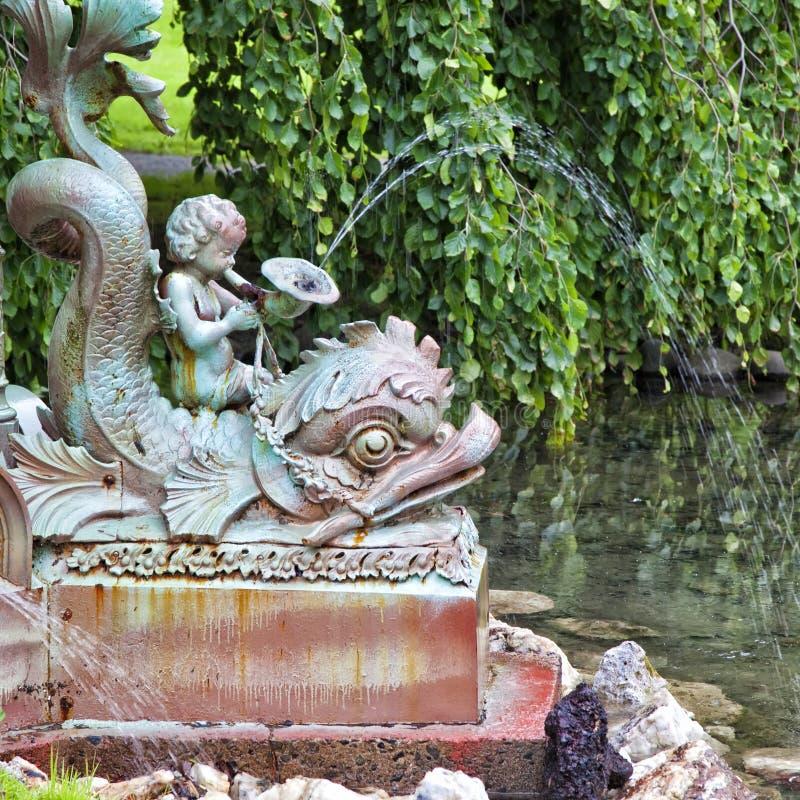 Détail de fontaine photo libre de droits