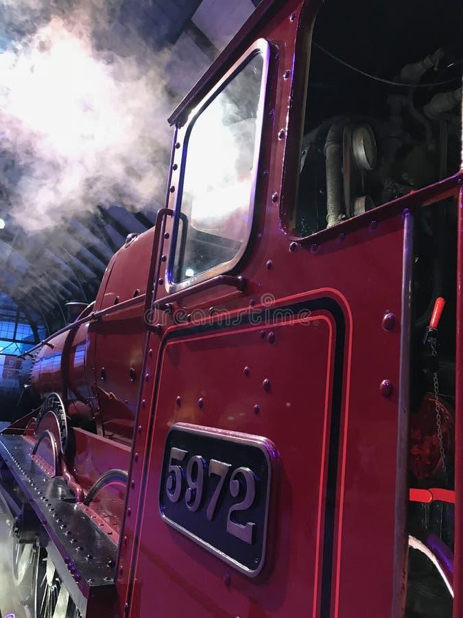 Détail de fou de château de Hogwarts des films de Harry Potter photos libres de droits