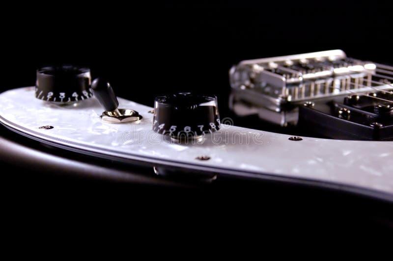 Détail de guitare électrique photos libres de droits