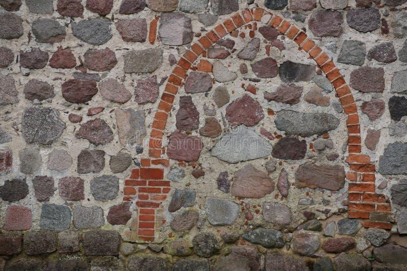 Détail de l'église historique dans Zarnekow, Allemagne photos libres de droits