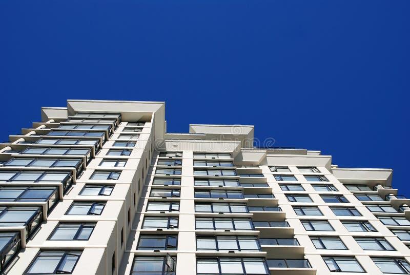 Détail de l'immeuble moderne à Vancouver images libres de droits
